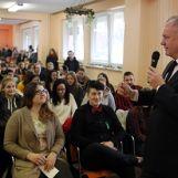 Návšteva prezidenta Slovenskej republiky Andreja Kisku na SOŠ Pruské