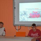 Prezentácia žiakov zo zahraničnej stáže vo firme HORSCH